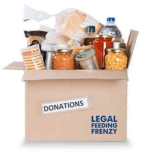 NC Legal Feeding Frenzy food bank donations